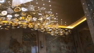 Монтаж  люстры стоимостью десяти квартир в центре Москвы