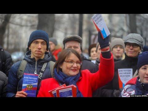 Протестное шествие 19 января в Москве. LIVE