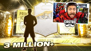 OMG I PACKED MY FIRST PRIME ICON!! 3 MILLION COINS!! FIFA 21