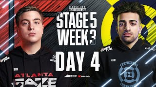 Call Of Duty League 2021 Season | Stage V Week 3 — Seattle Home Series | Day 4