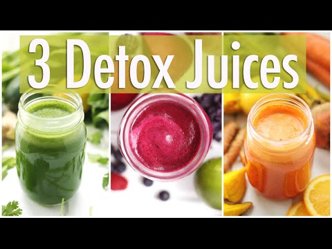 3 Detox Juice Recipes for Healthy Skin & Digestion
