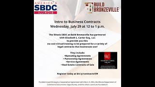 Intro to Business Contracts