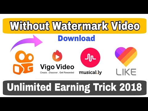 Vigo Video & Kwai App Video Download Without Watermark | Remove Watermark for Vigo Video & Kwai App