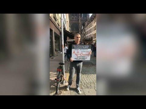 Un restaurateur alsacien fait la manche pour recruter du personnel