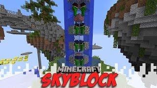 I'M CONTRIBUTING! - Skyblock Season 4 - EP04 (Minecraft Video) thumbnail