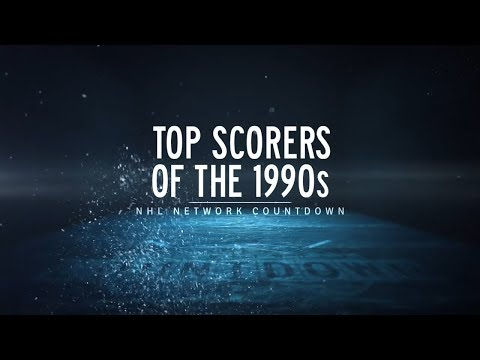 NHL Network Countdown: Top Scorers of the 1990s