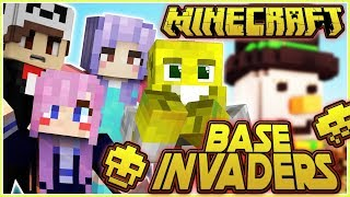 So Close!! | Minecraft Base Invaders!