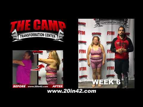 Bakersfield Weight Loss Fitness 6 Week Challenge Results - Rosa C.