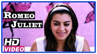 Romeo Juliet Tamil Movie | Scenes | Hansika and friends plans to impress Jayam Ravi
