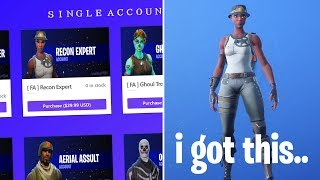 So I tried getting RECON EXPERT in Season 8 and this happened..