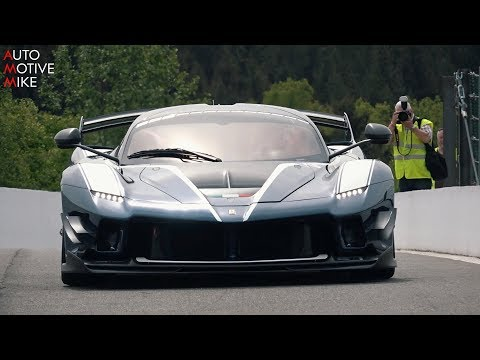 NEW Ferrari FXX K EVO SOUND - Start Up,...