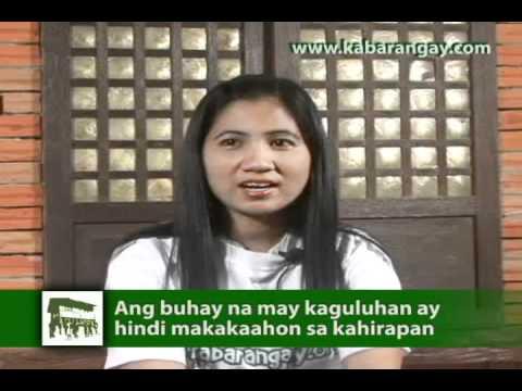 Salawikain - Ang Buhay na may Kaguluhan ay Hindi Makakaahon sa Kahirapan
