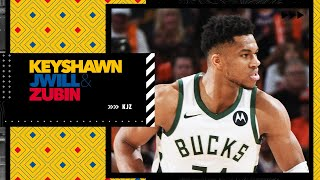 Reacting to Giannis' historic 20-point 3rd quarter in Game 2