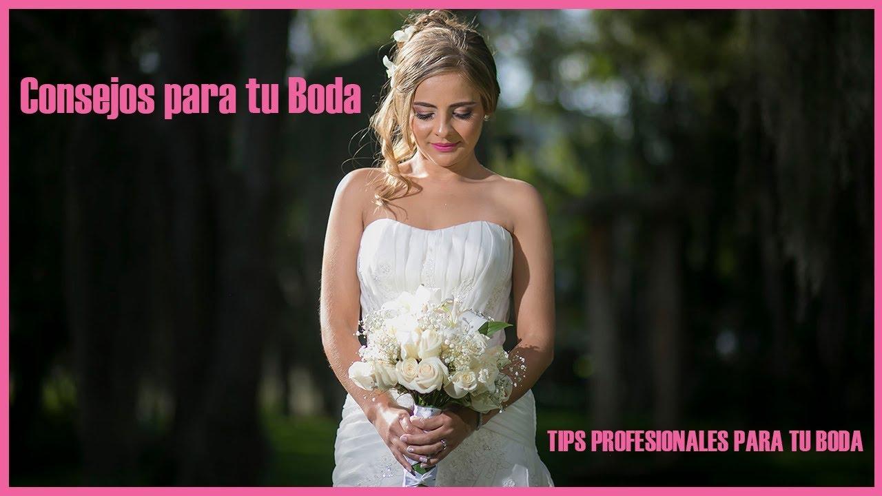 Consejos para Bodas y Matrimonios por James Alberth Fotógrafo de bodas