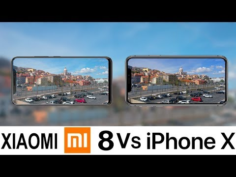 Xiaomi Mi 8 Vs IPhone X Camera Test