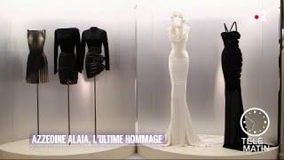 Mode - Azzedine Alaïa, l'ultime hommage