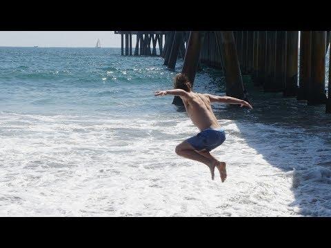LA VIBES ARE REAL! Venice Beach, Santa Monica Pier & Tempest Freerunning Academy