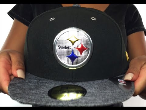 Steelers  2016 NFL DRAFT  Fitted Hat by New Era - YouTube 77cf6c7de6a