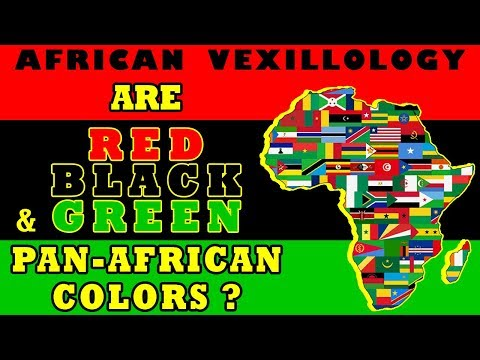 African Vexillology - Are Red Black and Green Pan-African Colors?