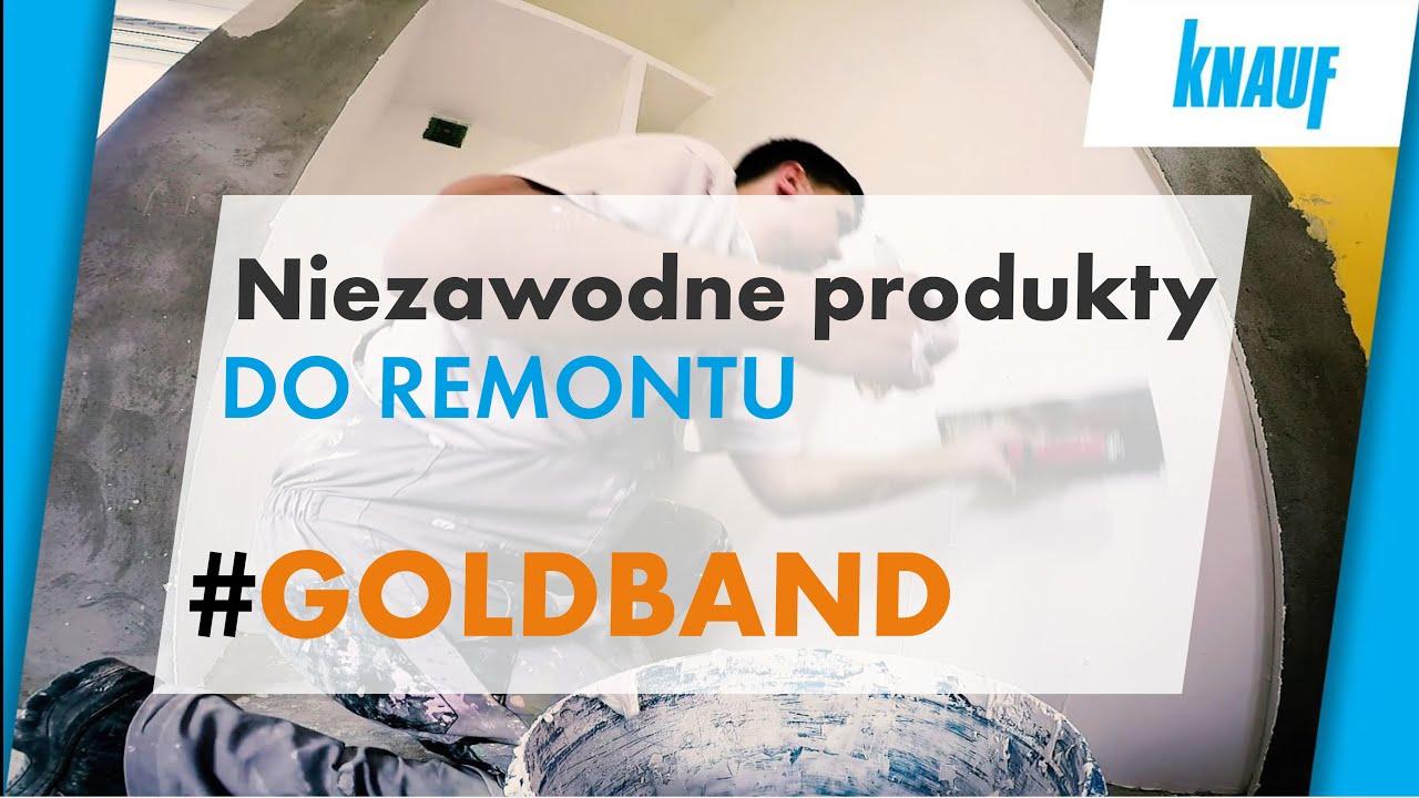 Knauf Goldband Tynk Gipsowy Do Remontu Niezawodne Produkty Do