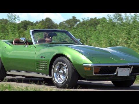 1972 Chevrolet Corvette Stingray Deluxe Youtube
