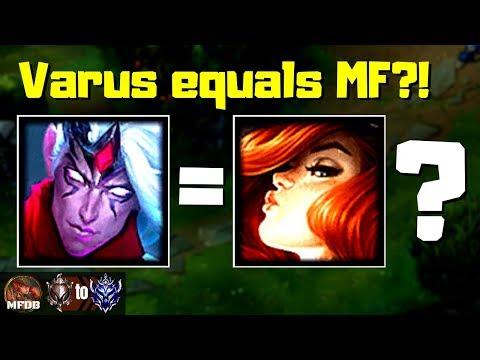 OMG! MF style Varus deals 100% TOO MUCH DAMAGE - Iron to Diamond Episode #15 (Season 9)