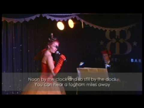 Karin Hochapfel CABARET SOHO REVUE BAR London 08 07