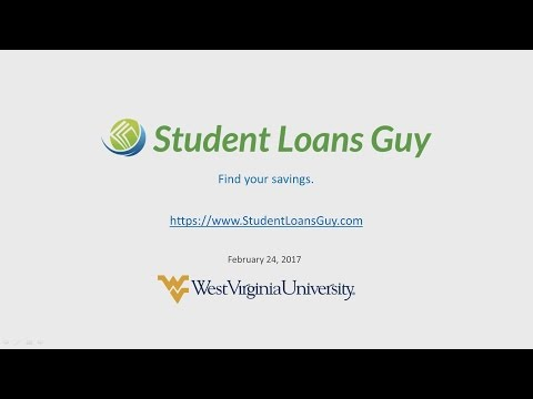 Student Loans Guy - Brandon Yahn - Lecture at WVU