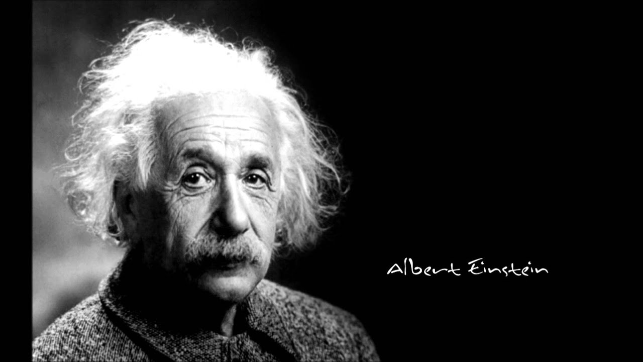 Albert Einstein Quotes A Collection Music By Tchaikosvky Youtube