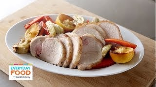 Pork Loin With Carrots, Fennel, And Lemon | Everyday Food With Sarah Carey