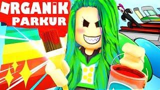 ROBLOX 🐞 EL YAPIMI ORGANiK PARKUR 🐞 Obstacle Paradise Türkçe 🐞 Simulator 🐞 Parkour Obby