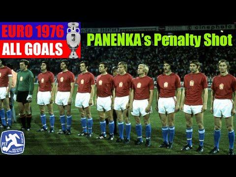 UEFA Euro 1976 in Yugoslavia. All Goals.