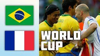 Brazil 0 - 1 France   World Cup 2006