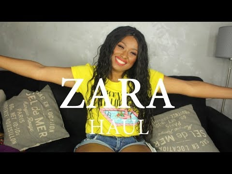 $$$$$ chez Zara ! Haul mode du printemps!