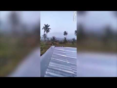 2018 Terrifying  Moving Earth - Earthquake In Indonesia 2018