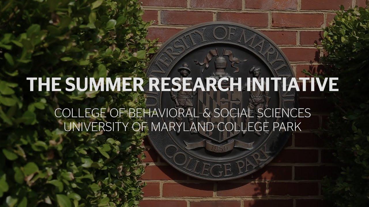 The Summer Research Initiative