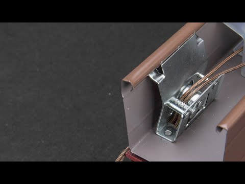 How To Replace A Cord Lock In A Wood Faux Wood Blind