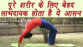 चक्रासन (Chakrasana ) | Wheel pose | पूरे शरीर के लिए बेहद लाभदायक होता है ये आसन  | Boldsky