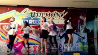 140817 The Boys remix, Time Control, Coco, Red Light Cover by S2G @ Road To Kpop Dream Wave Audition