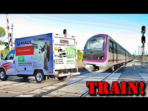Epic Train Prank on Workers! (MUST WATCH)