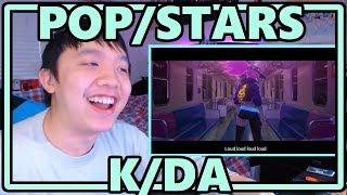 K/DA - POP/STARS [feat. (G)I-DLE/Jaira Burns/Madison Beer] MV Reaction [LEAGUE OF LEGENDS AND KPOP?]