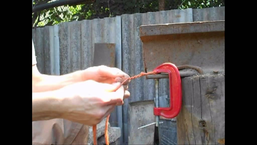 Станок своими руками для плетения веревок