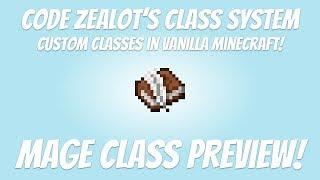 Custom Classes & Spells in Vanilla Minecraft!   1.13   RPG