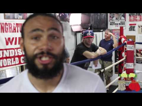 Keith Thurman Full Workout For Danny Garcia Fight - esnews boxing