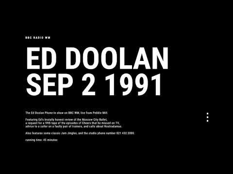 Ed Doolan September 2nd 1991 - BBC Radio WM