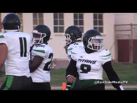 Cantwell Sacred Heart of Mary Football vs Pioneer Titans (Full Game) 2021