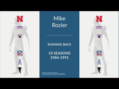 Mike Rozier: Football Running Back