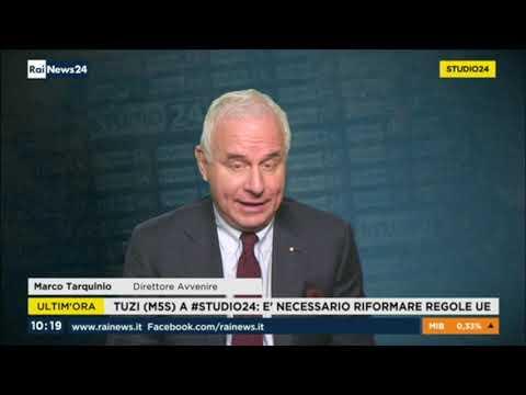 Manuel Tuzi ospite a RaiNews24 11-01-2019