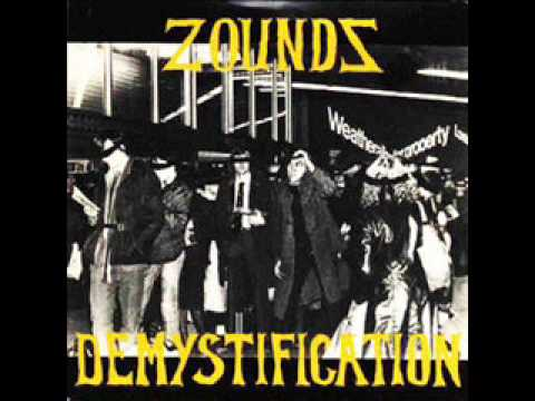 Zounds - Demystification / Great white hunter 7""