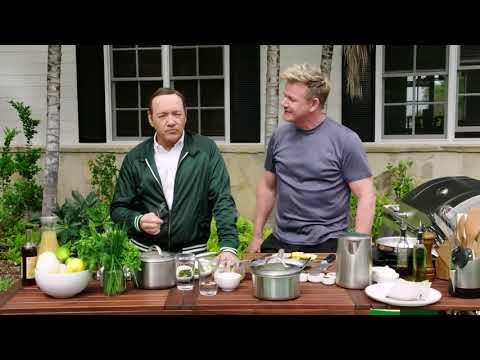 Kevin Spacey & Gordon Ramsay Have a Swear Off!